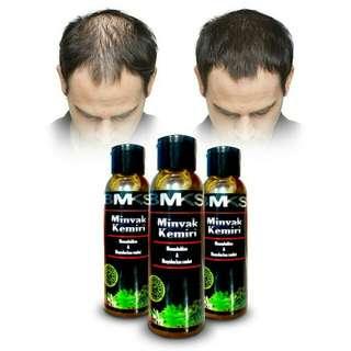 Minyak kemiri BMKS penumbuh rambut / black magic kemiri / anti rontok