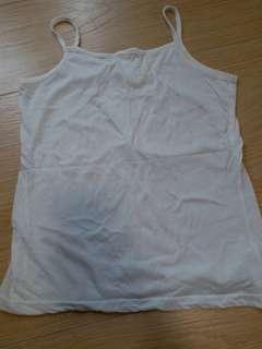 白色吊帶背心 底衫