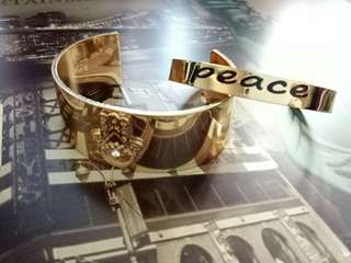 Peace Bangle Set by Inspired Life