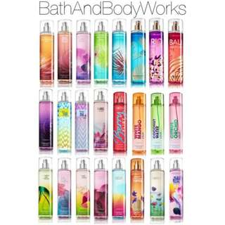 Bath and Body mist