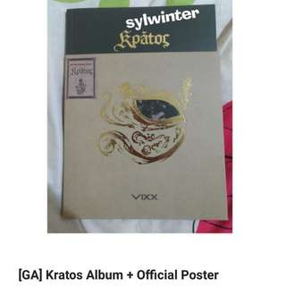 [Closed] GA VIXX Kratos + Official Poster