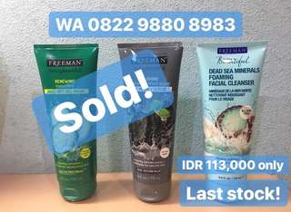 Ready Stock Freeman Cleanser dan Freeman Infusion