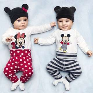 PRE ORDER: 3PCS Mickey Mouse set