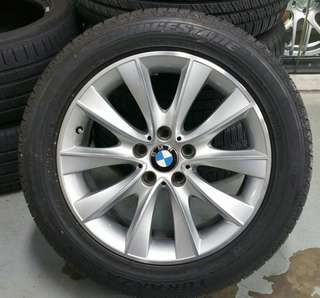 """18"""" BMW 7 Series OE rim with tyres"""