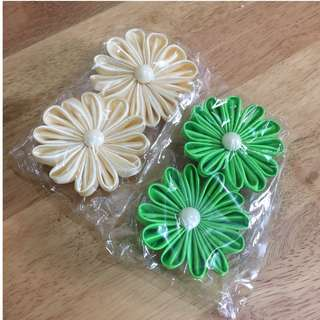 Handmade pita bunga ( 1 set 2 pcs)
