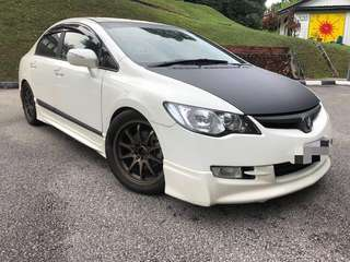 Honda Civic fd 1.8 manual 2008