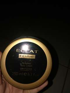 Perfumed Body Cream Eclat Femme