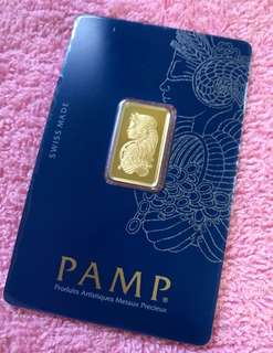 (PAMP - Pure Gold Bars - 999 Gold) + (MAS Zodiac Gold Coins - 999 Gold Series)