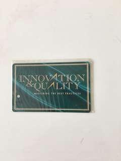 SMRT Card - Innovation & Quality