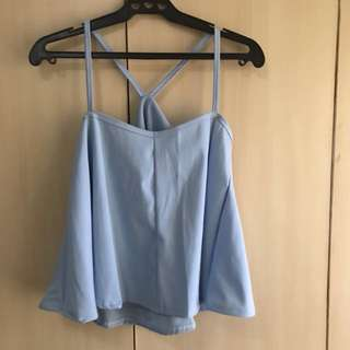 Blue Top (buy 3 Tops For 200)