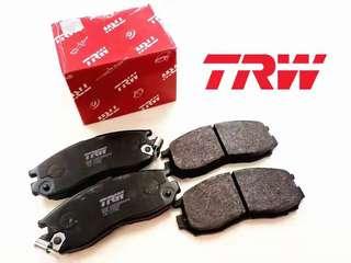 TRW Brake pad for Perodua MYVI Lagi Best