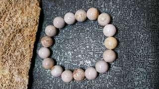 珊瑚玉-11咪圓珠手串