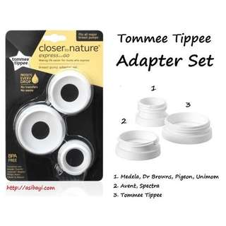 Breastpump adapter