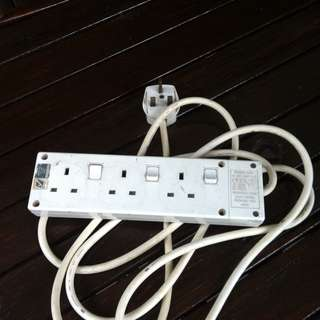 NCE power socket entension wire. In good working condition.