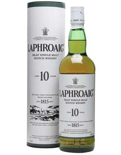 Laphroaig 10 years of age Islay Single Malt Scotch Whisky 700ml
