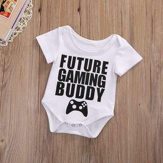Pre order: Baby Game  Romper (Assorted design)