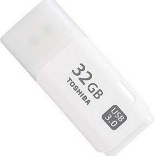 Toshiba Hayabusa USB 3.0 Flash Drive U301 THN-U301W032