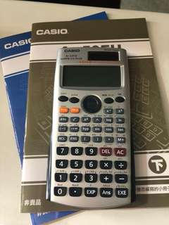 Casio計數機 calculator fx-50FH