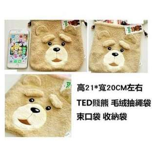 [預訂貨] TED 賤熊 束口袋 收納袋