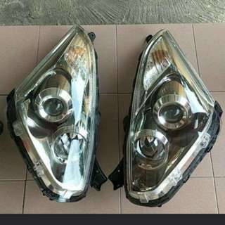 Headlight toyota wish HID 2006 HId original japan