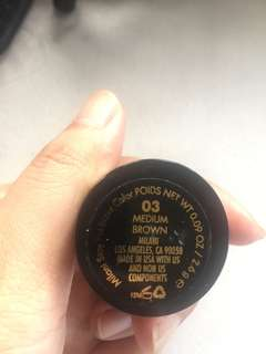 Milani stay out brow pomade - medium brown