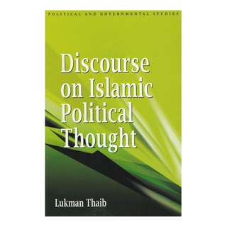 Discourse On Islamic Political Thought Old