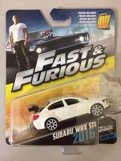 FAST & FURIOUS Subaru WRX STI