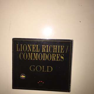 Lionel richie commodores gold (isi 2 cd)