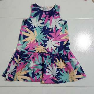 Camouflage 5 - 6t Dress