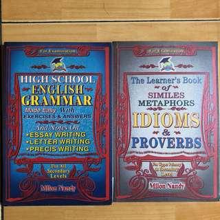 English grammar / idioms probers
