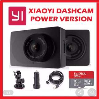 XiaoYi Yi Black Power Version Car Dashcam