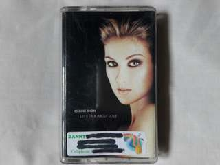 "Celine Dion ""Let's Talk About Love"" Cassette Tape"