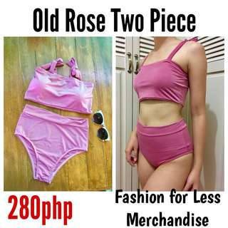 Old Rose Two Piece