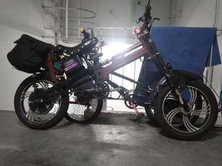 Ebike 72v800watt trade with speedway 4 or other scooter 52v26ah