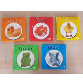 Preloved Baby Colour books