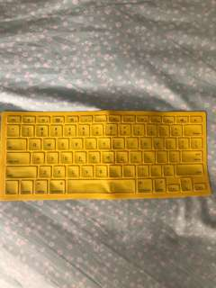 Macbook yellow keypad cover