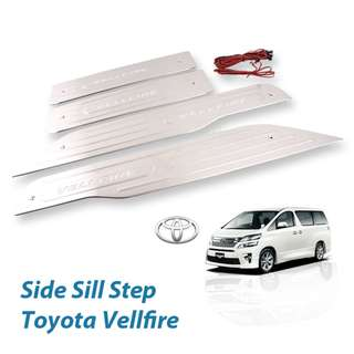 Toyota Vellfire 2008-2014 LED Door Step Side Step