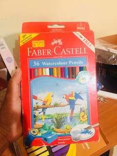 Faber Castel water color pencil 36