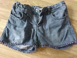 Preloved girl's denim shorts