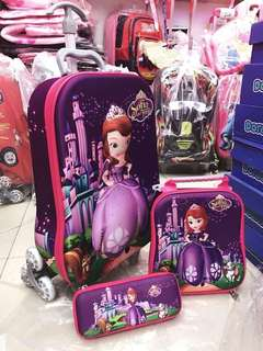 Kids Bags 3DTrolley 3in1
