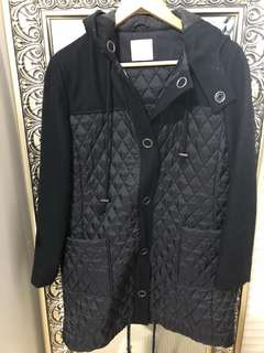 Gorman black winter jacket