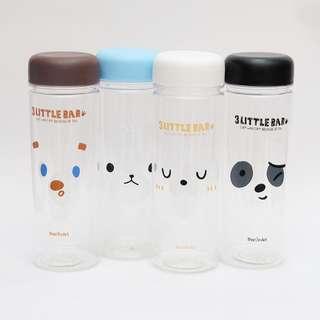 Little Bear Plastic Water Bottle