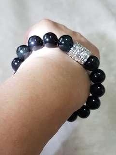 Bracelet (Rainbow Obsidian)