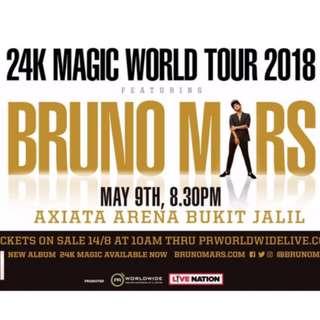 Bruno Mars Concert in KL