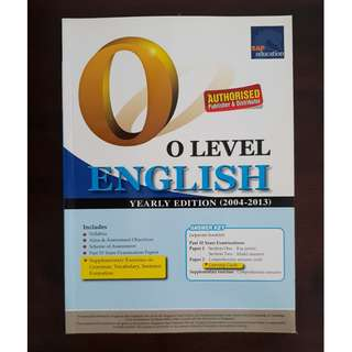 SAP O level English