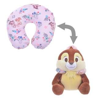 [PO] Disney Neck Pillow 2 Way Chip & Dale Tropical