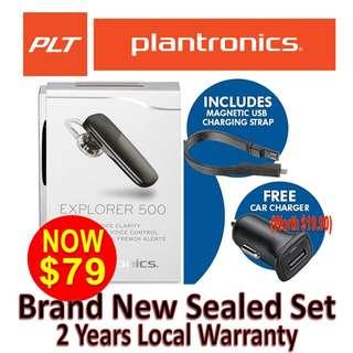 Plantronics Explorer 500 (2 Years Local warranty)