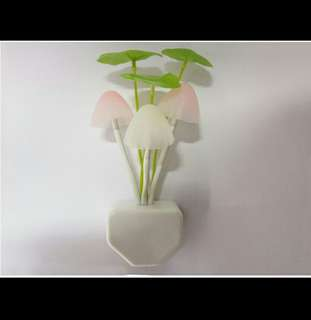 MUSHROOM LAMP (LAMPU TIDUR BENTUK JAMUR) MURAH