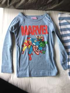 Cotton On Pajamas Marvel