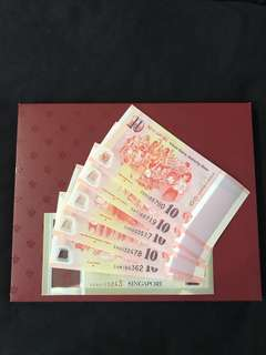 ( Pending) SG50 Commemorative Notes With Folder